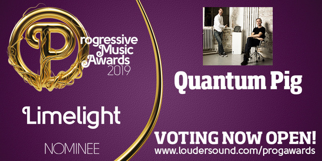 Quantum Pig Prog Award Nomination 2019