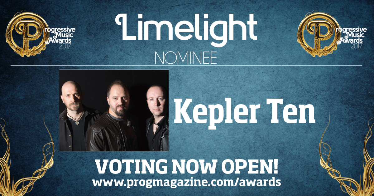 Kepler Ten Prog Award Nomination