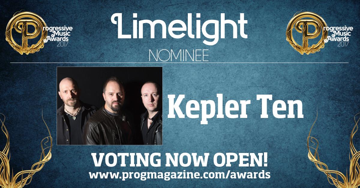 Kepler Ten Prog Award Nomination